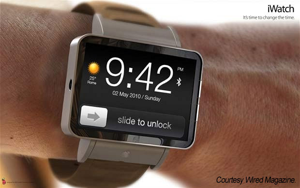 Wired: Apple iWatch?
