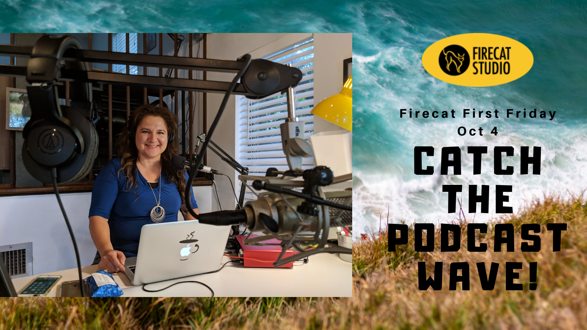 Firecat-First-Friday-October-Podcasting